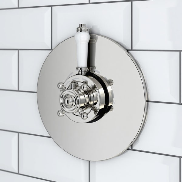 Dulwich Concentric Thermostatic Valve & Wall Shower Set
