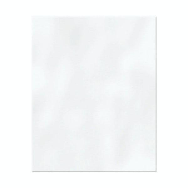 Clarity plain bumpy gloss white wall tile 200mm x 250mm