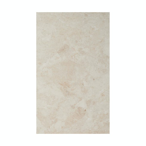 British Ceramic Tile Face light beige matt tile 298mm x 498mm