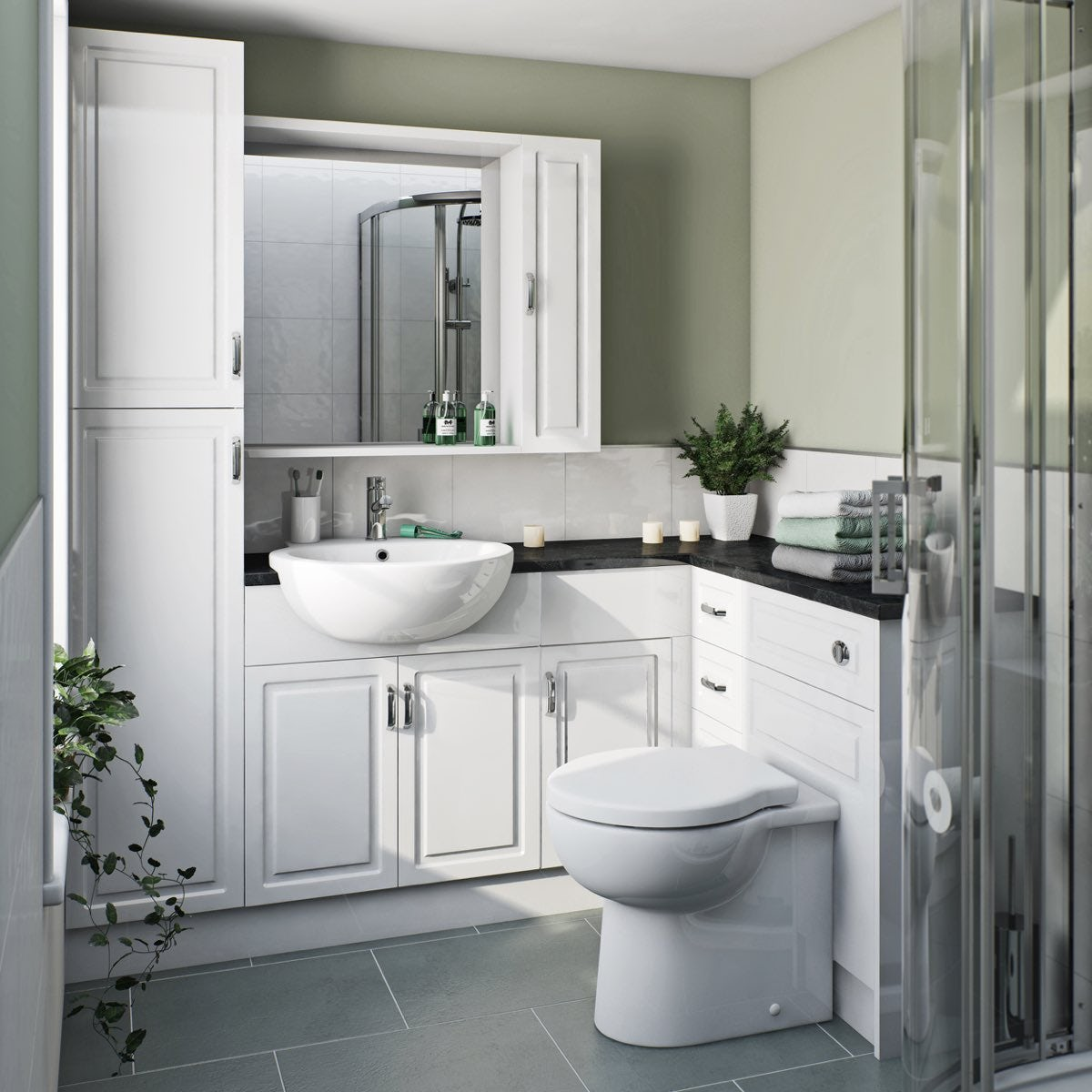 Orchard Florence Corner Ensuite Drawer Unit Pack With
