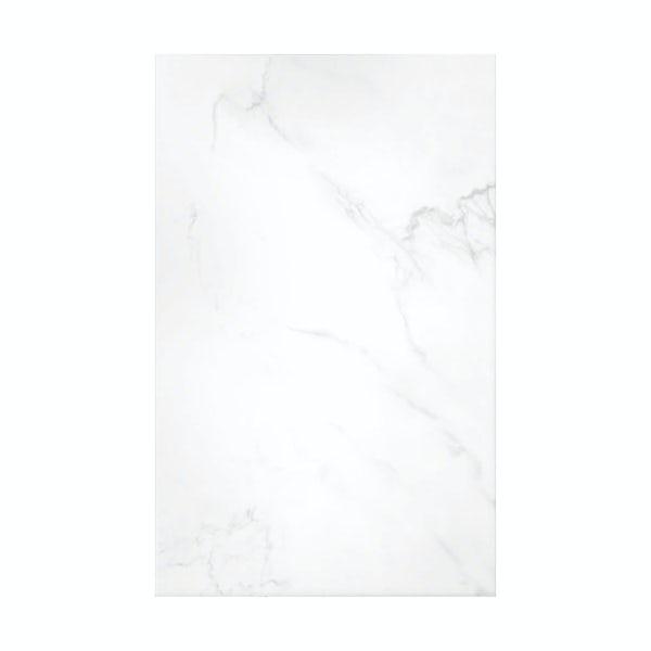 British Ceramic Tile Galaxy white gloss tile 248mm x 398mm