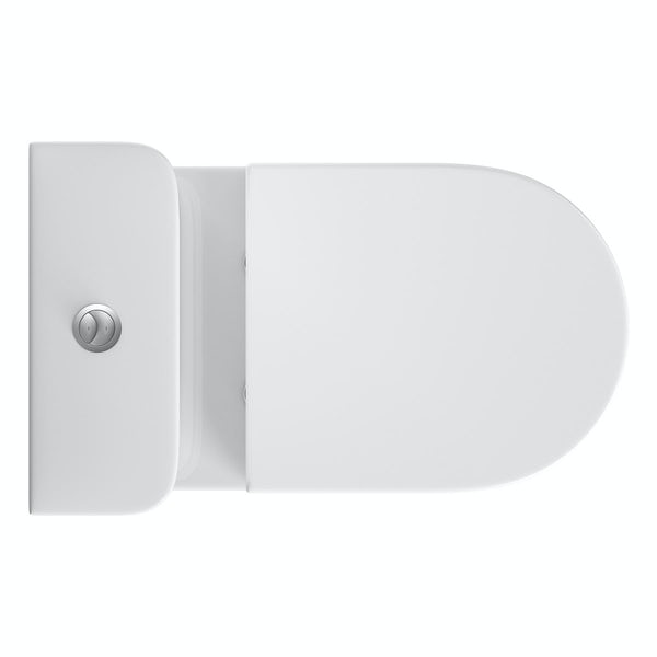 Deco Close Coupled Toilet Inc Soft Close  Seat