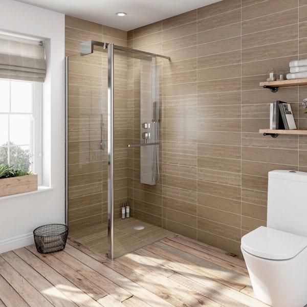 V6 Designer Shower System 1600 x 800