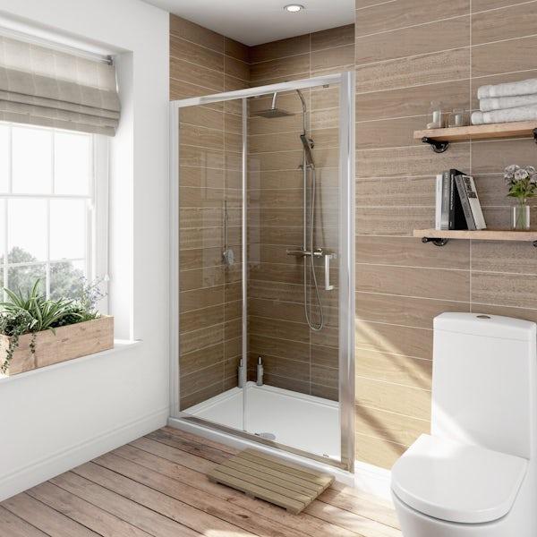 V6 6mm Sliding Shower Door 1000