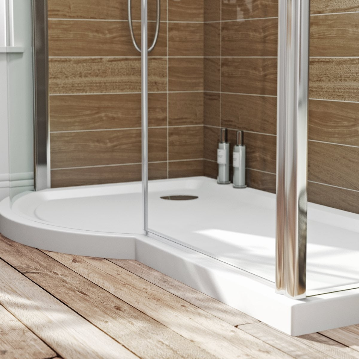 Orchard P Shaped Left Handed Shower Tray 1500 X 900 Victoriaplum Com