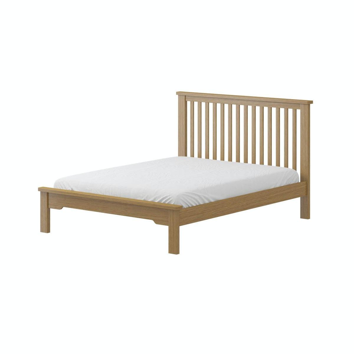 mfi rome oak double bed. Black Bedroom Furniture Sets. Home Design Ideas
