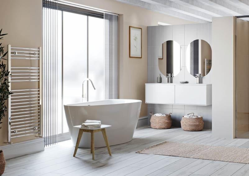 Lagom Scandi style bathroom