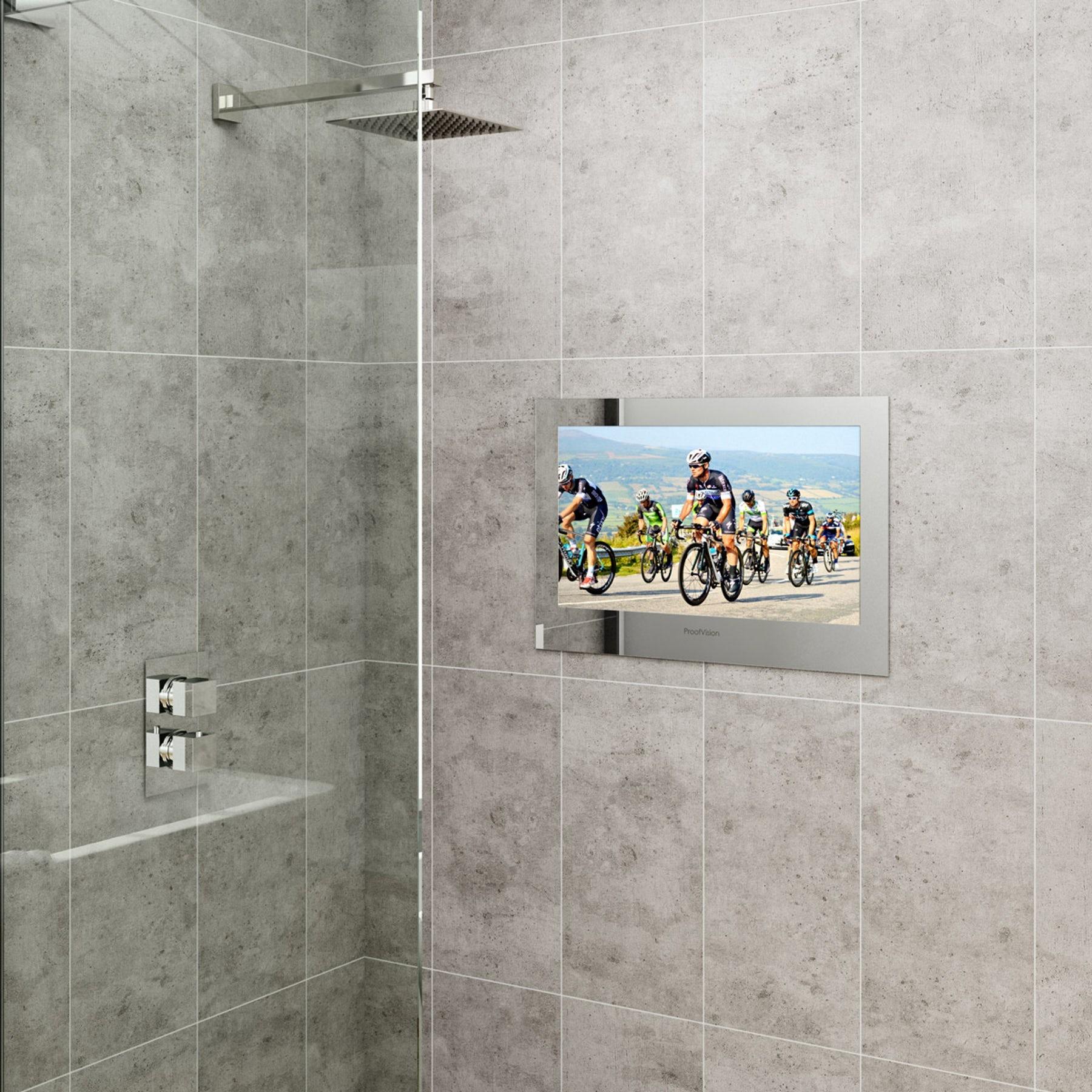 Proofvision waterproof bathroom TVs