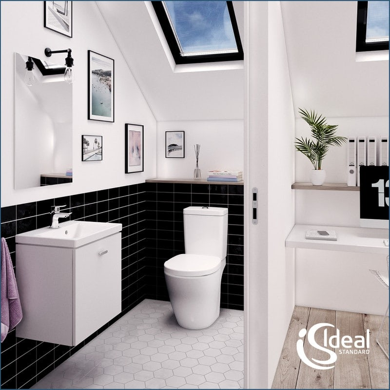 Utilise the space under your basin