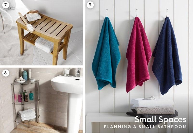 Small bathrooms accessories advice