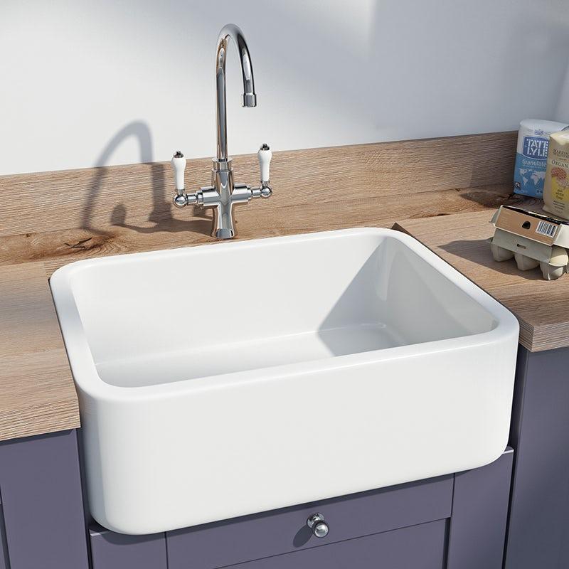 Whitebirk Sink Co. Barrow single ceramic sink