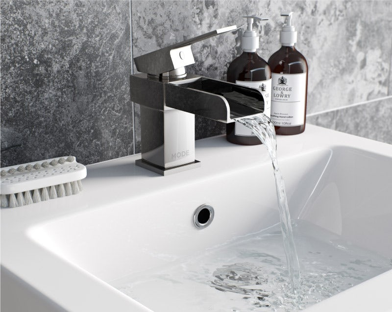 A running tap can waste water