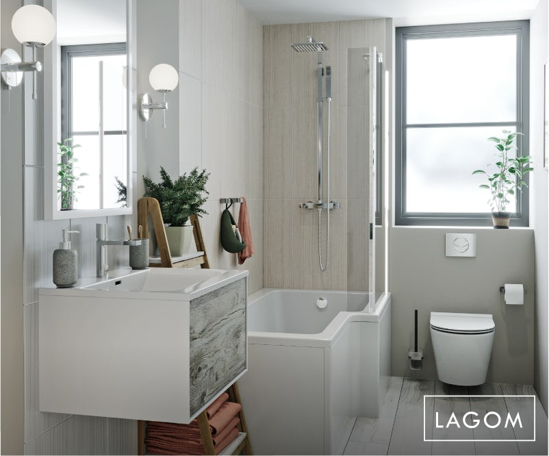 Lagom small bathroom