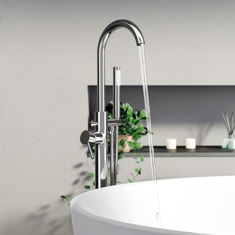 Eden freestanding bath filler tap