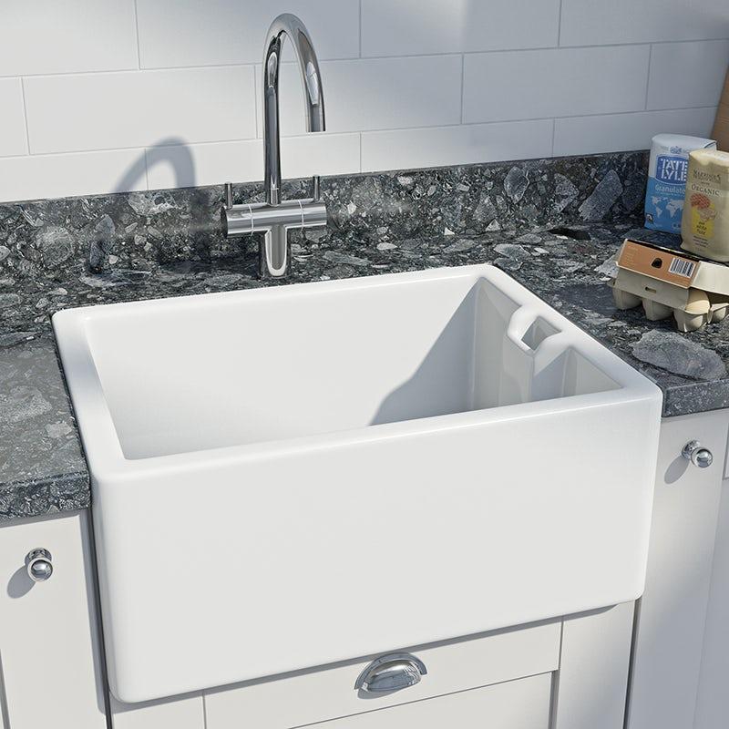 Kitchen sinks at Victoria Plum
