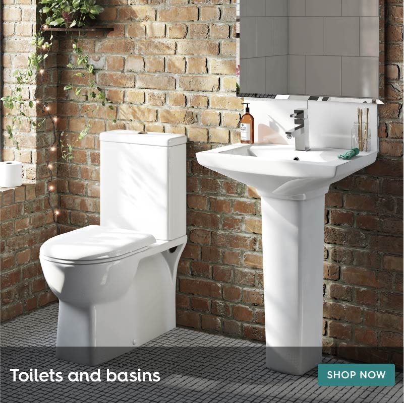 Toilets and basins for ensuite bathrooms