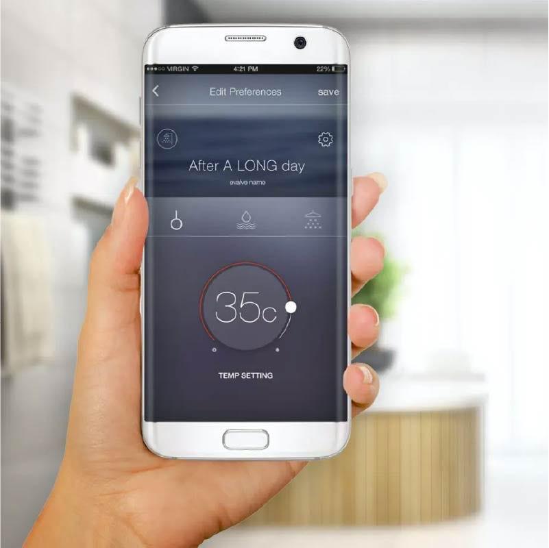 SmarTap smart showering & bathing system