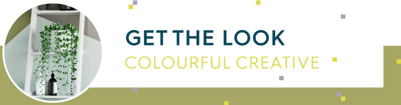 Get the Look: Colourful Creative
