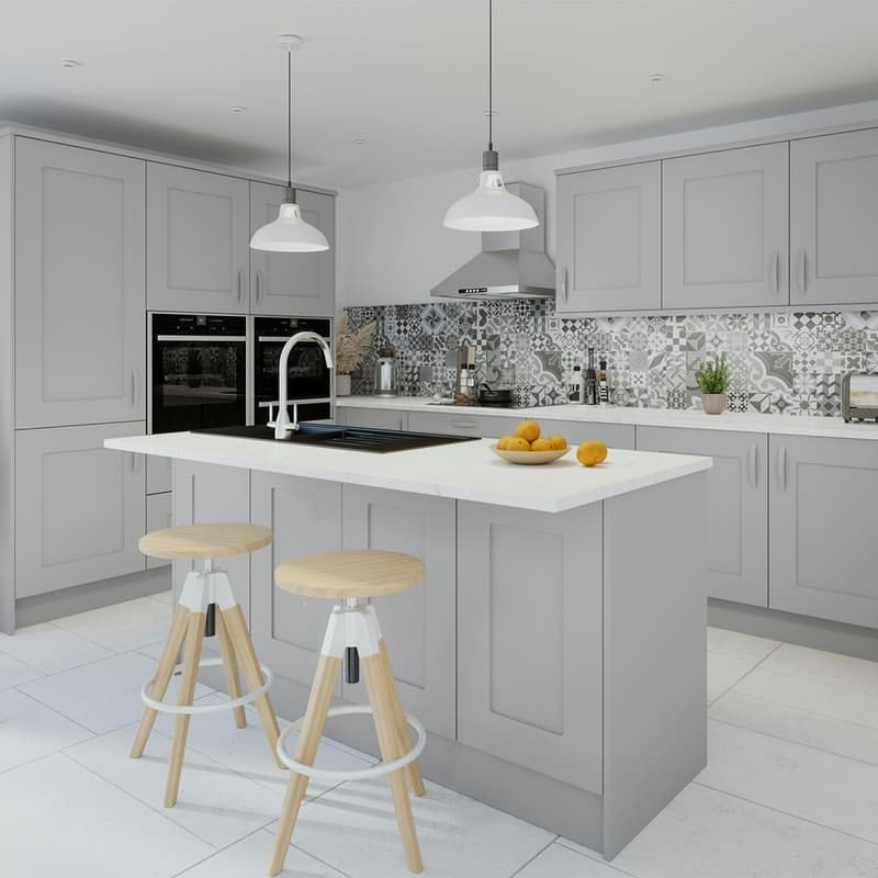Worktops and countertops for kitchens at Victoria Plum