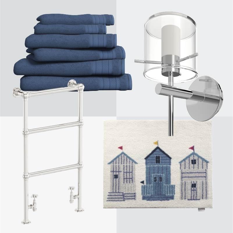 The Harbour bathroom nautical accessories