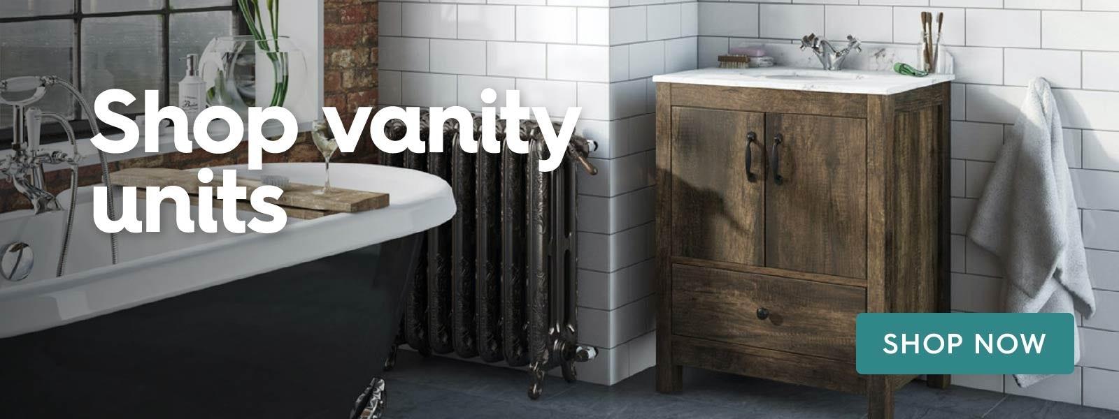 Shop vanity units