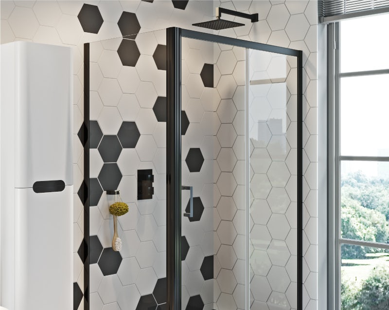 Maximum Monochrome shower enclosure