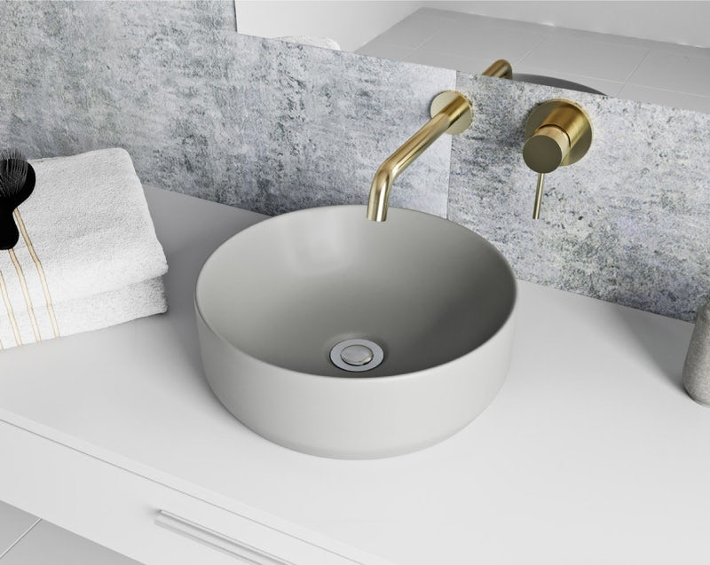 Mode Orion grey countertop basin 355mm