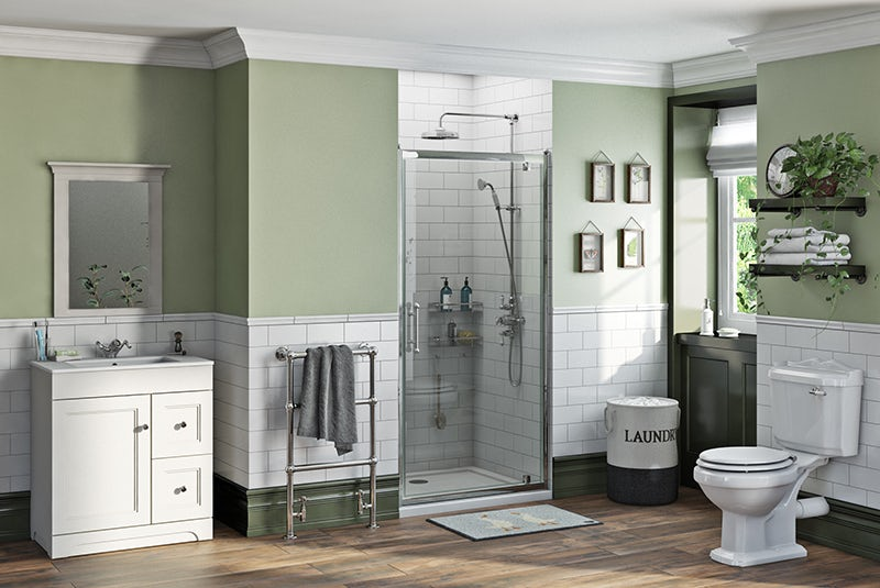 Winchester complete shower door suite