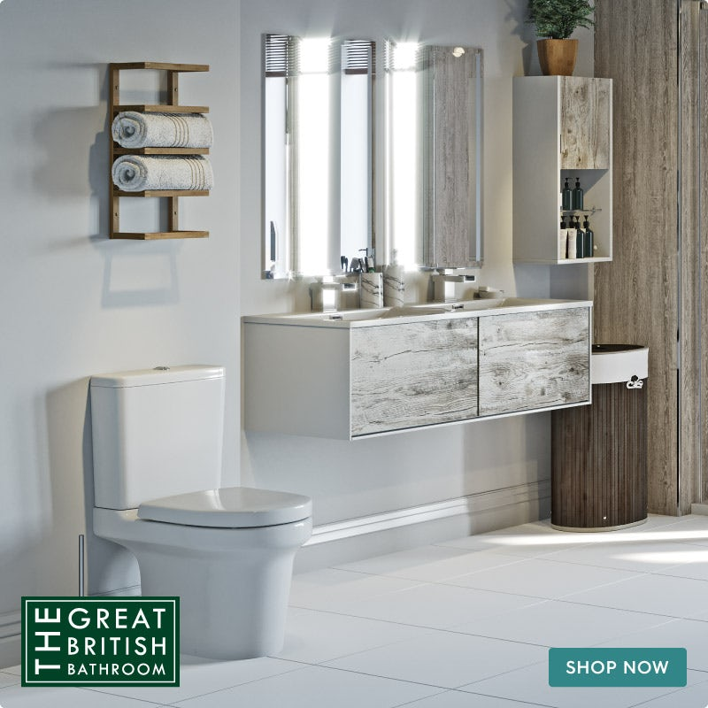 Natural Elements neutral bathroom accessories