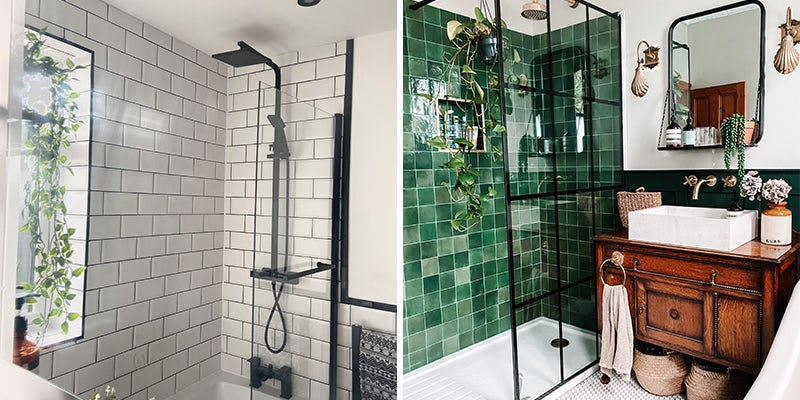 Use classic tiles in contemporary settings