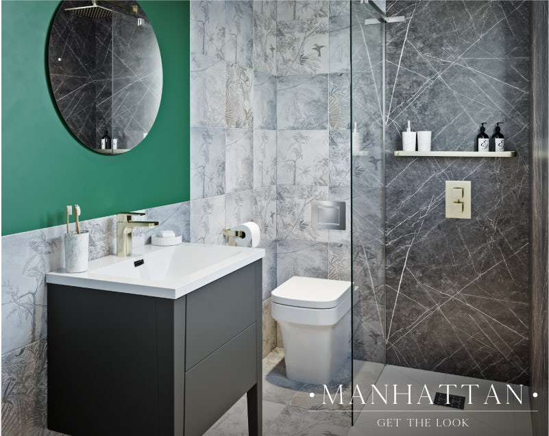 Manhattan small bathroom