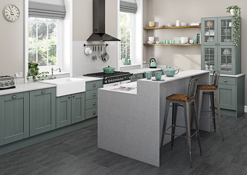 Fitted kitchens at Victoria Plum