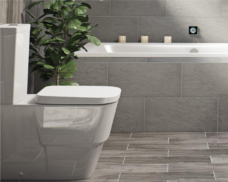 Dual flush water-saving toilet