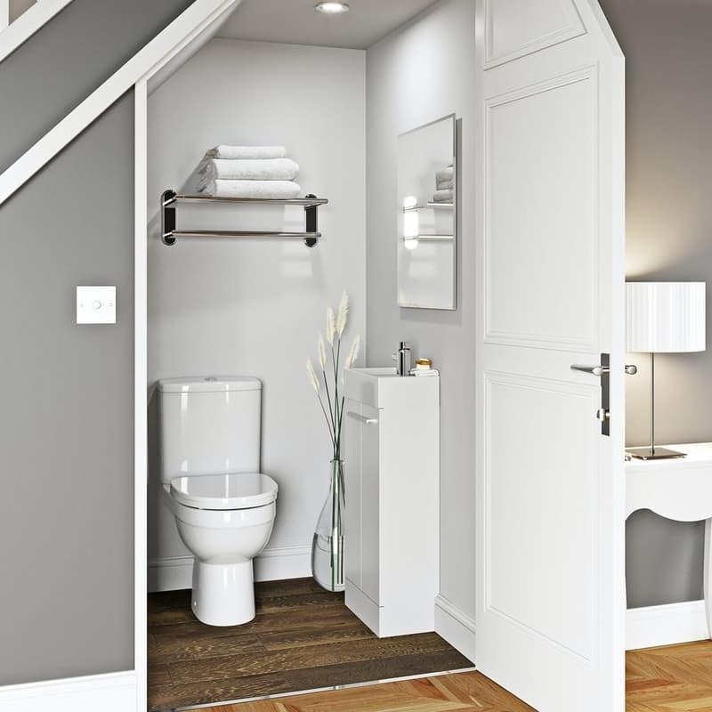 Compact cloakroom furniture