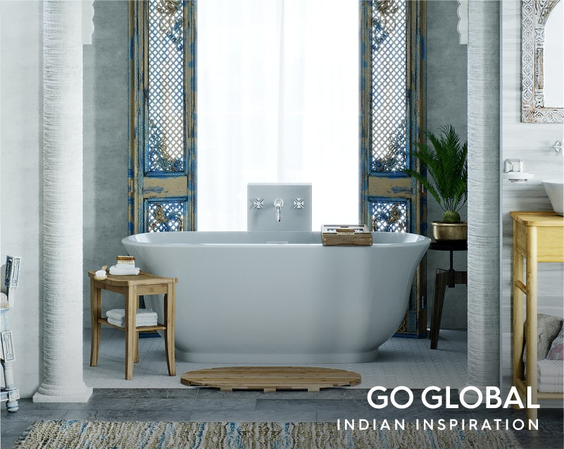 Get the look: Go Global—India bath