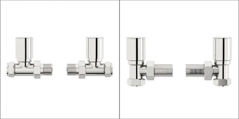 Straight & angled radiator valves