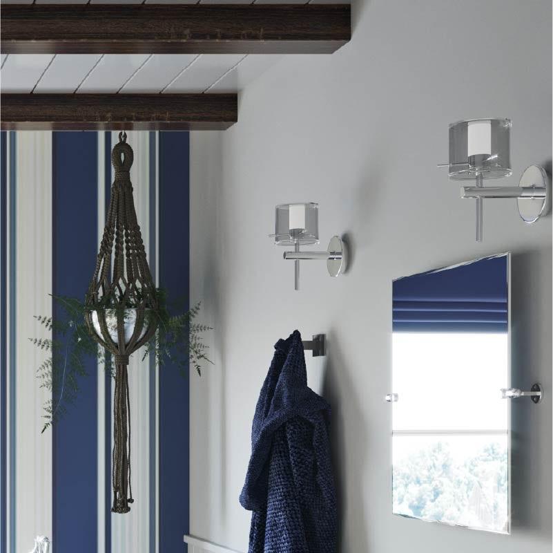 The Harbour bathroom lighting