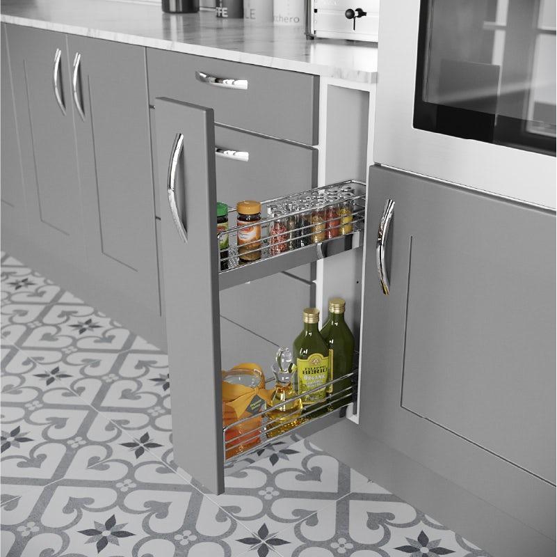 Stylish kitchen worktops at Victoria Plum