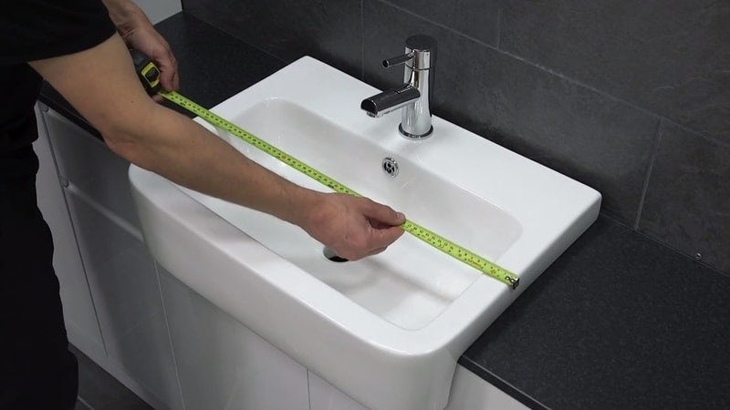 Measuring the basin width