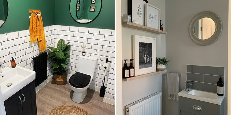 Add classic furniture to your cloakroom