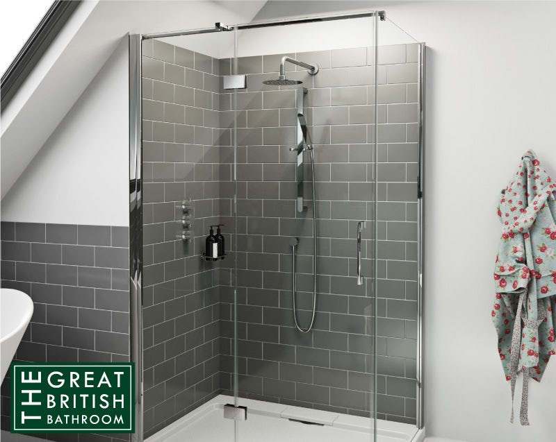 Fitting a shower enclosure in your loft bathroom