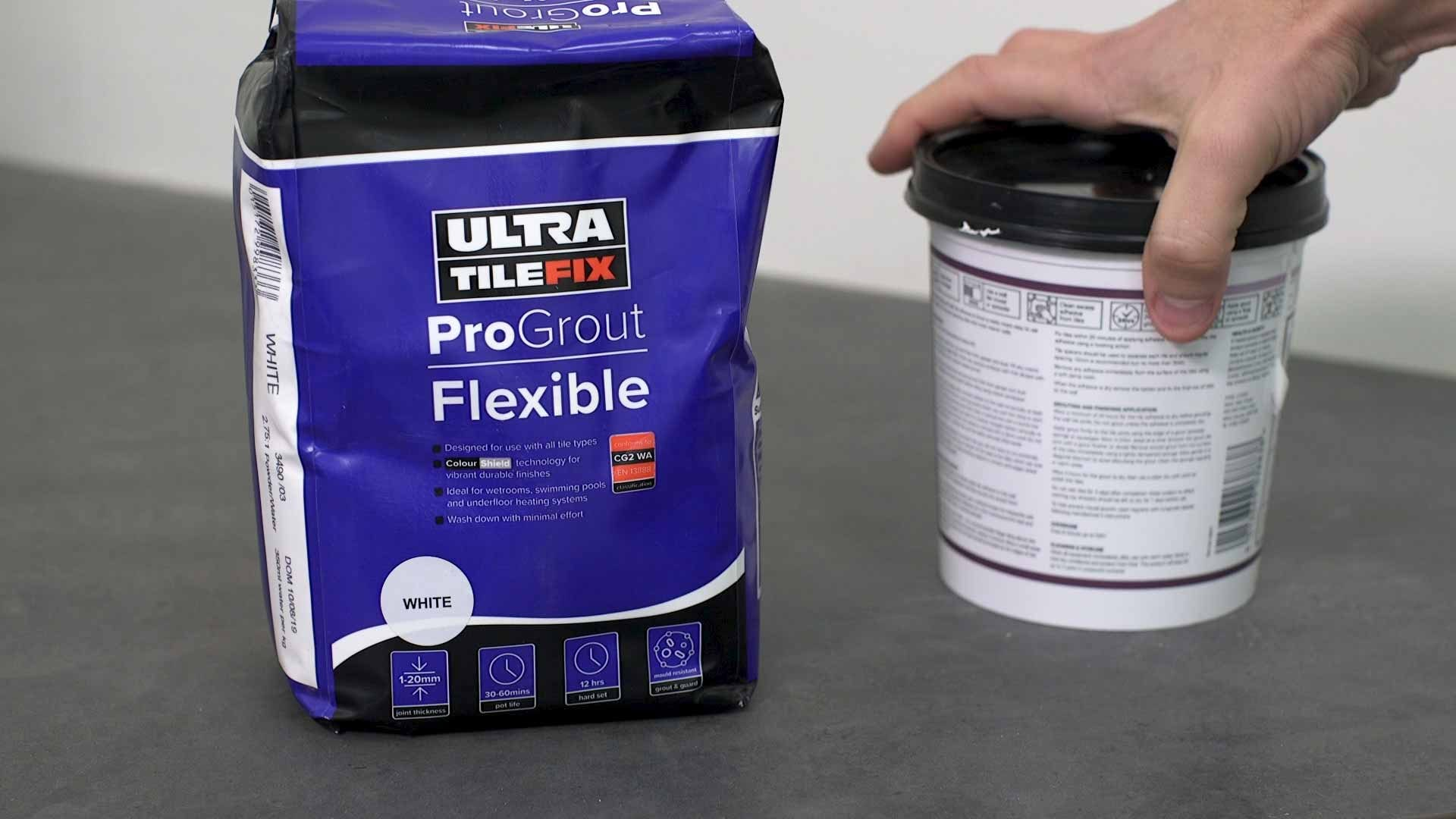 how to regrout tiles 3