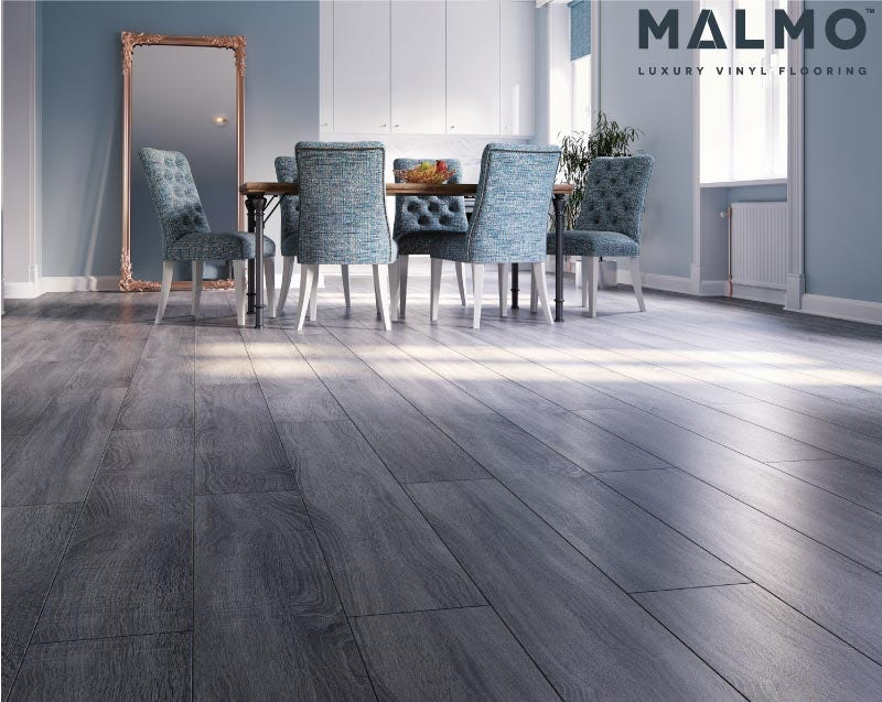 Malmo Rigid click tile embossed & matt 5G Linus flooring 5.5mm