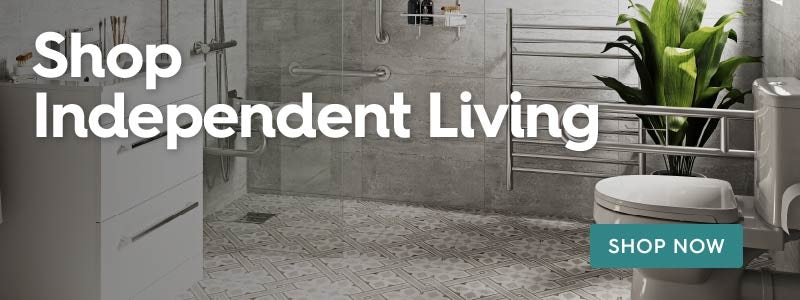 Shop Independent Living accessible bathrooms