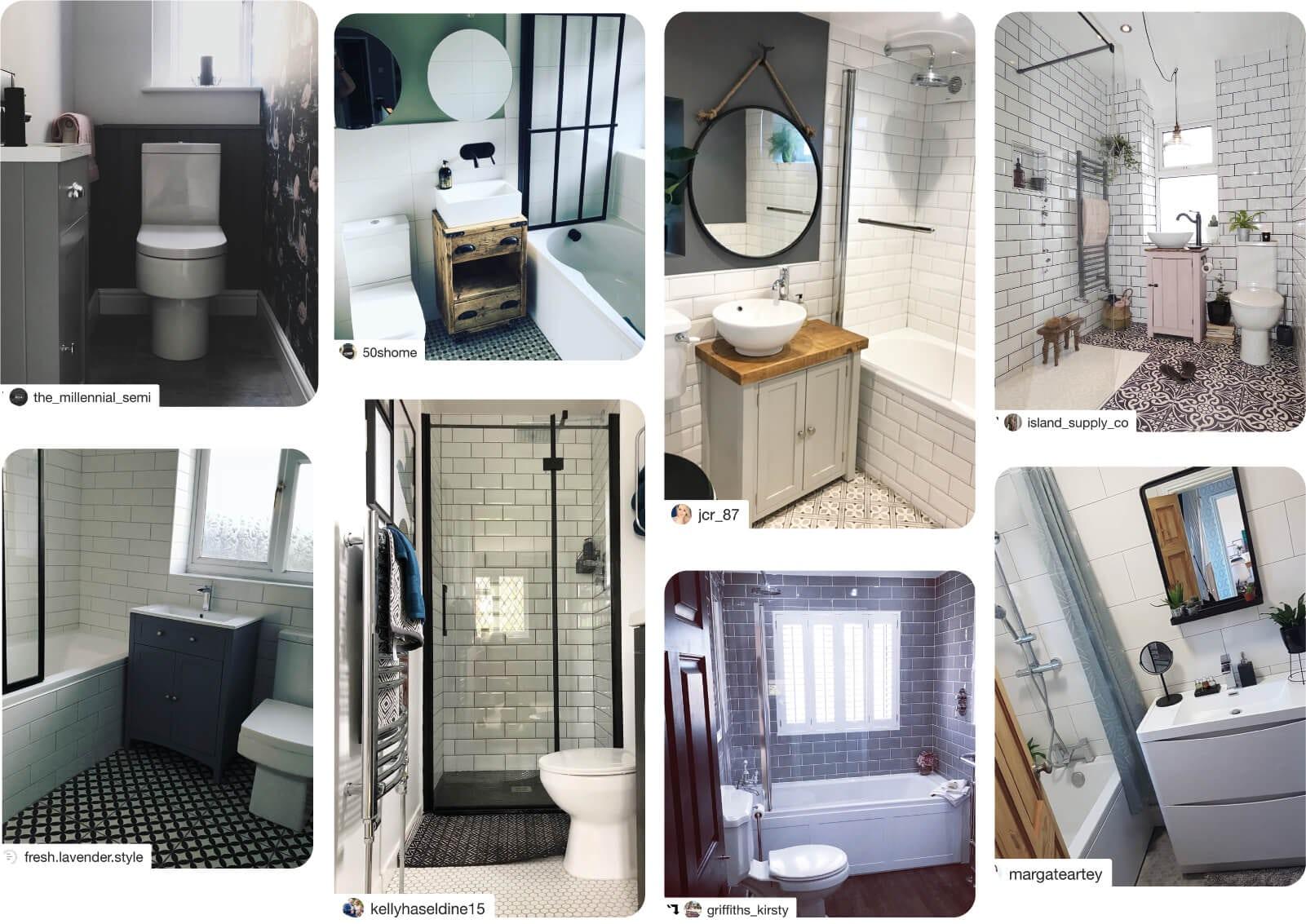 Small customer bathroom ideas