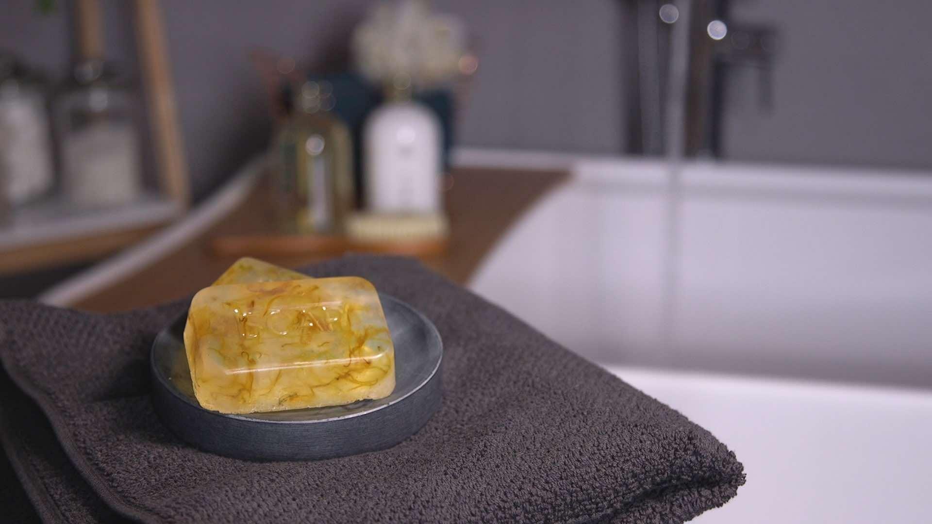 Hey presto! Organic soap