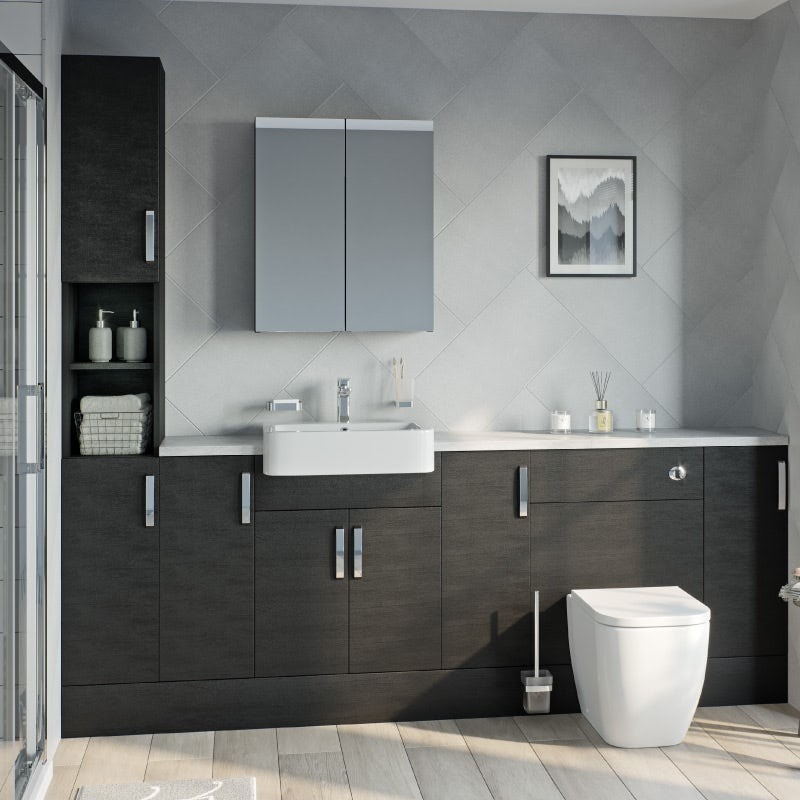 Reeves Nouvel quadro black fitted furniture range