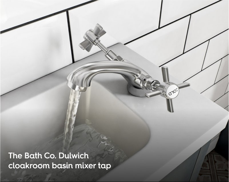 The Bath Co. Dulwich cloakroom basin mixer tap