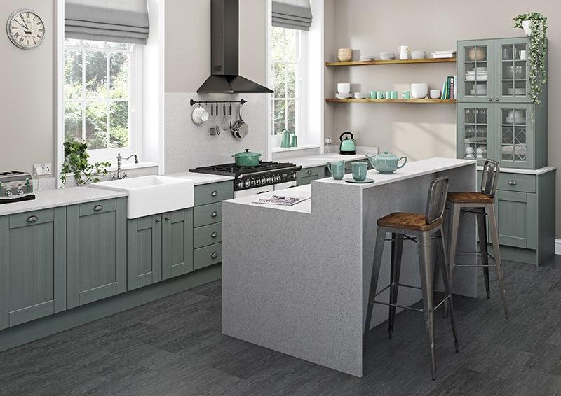 Kitchen worktops at Victoria Plum
