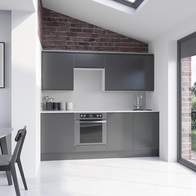 Schön Chicago mid grey kitchen furniture range